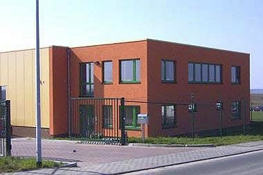Bürogebäude-Hochbau Bürogebäude