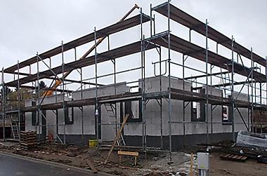 Bannewitz-Hausbau Neubau eines Einfamilienhauses
