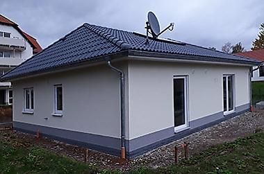 Baustelle-Hausbau-Doebeln Neubau eines Einfamilienhauses