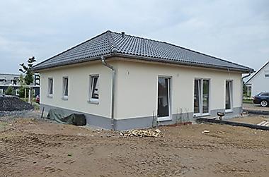 Bungalow-kaufen Neubau eines Einfamilienhauses