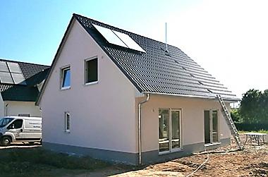 Einfamilienhaus-bauen Neubau eines Einfamilienhauses