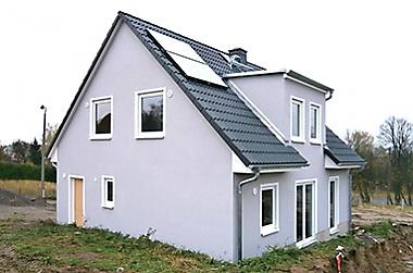 Haus-bauen-Information-Roßwein Neubau eines Einfamilienhauses