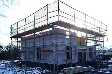 Haus-bauen-in-Oschatz Neubau eines Einfamilienhauses