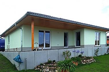 Hausbau Käbschütztal Neubau eines Einfamilienhauses