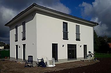 Hausbau Pockau Neubau eines Einfamilienhauses