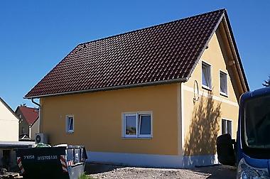 Hausbau-Grimma Neubau eines Einfamilienhauses