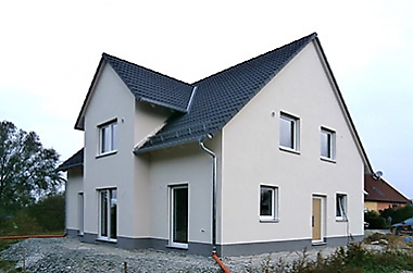 Hausbau-Informationen-Lampertswalde Neubau eines Einfamilienhauses