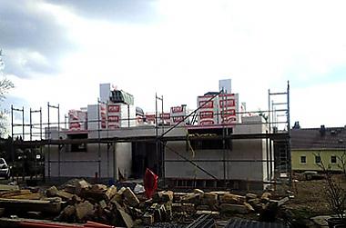 Hausbau-Massivhaus-Klingenberg Neubau eines Einfamilienhauses