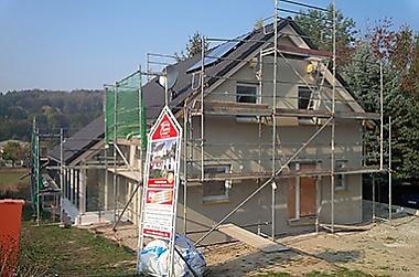 Hausbau-Massivhaus-Klipphausen Neubau eines Einfamilienhauses
