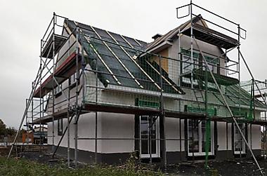 Hausbau-Speckgürtel-Dresden Neubau eines Einfamilienhauses