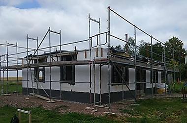 Hausbau-in-Marbach Neubau eines Einfamilienhauses