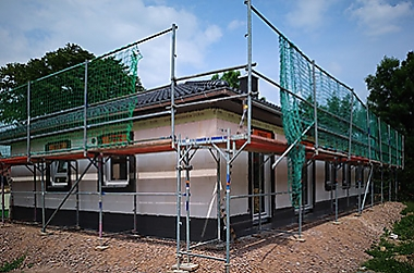 Hausbau-in-der Krise-Döbeln Neubau eines Einfamilienhauses