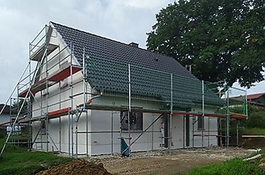 Hausbau-in-der-naehe-von-doebeln Neubau eines Einfamilienhauses