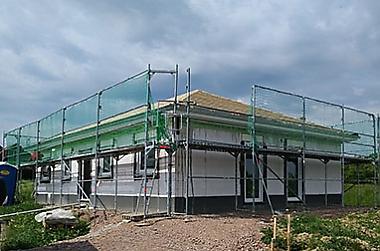 Massivhaus-Bungalow-bauen-2018 Neubau eines Einfamilienhauses