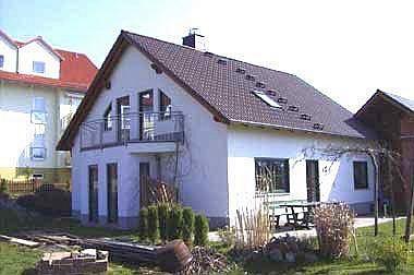 Massivhaus-Hochbau Einfamilienhaus