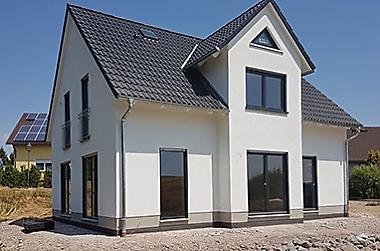 Massivhaus-bauen-2018 Neubau eines Einfamilienhauses