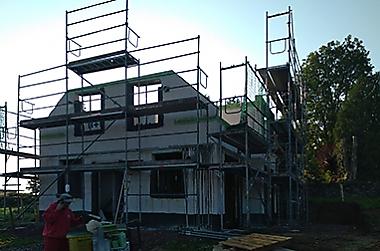 eigenheim-bauen-in-der-krise Neubau eines Einfamilienhauses