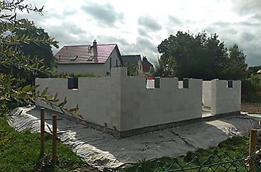 eigenheimbau Neubau eines Einfamilienhauses