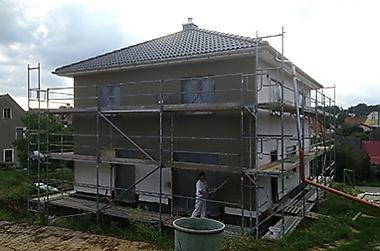 freie-Baugrundstuecke Neubau eines Einfamilienhauses