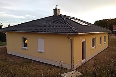 gute-schnelle-baufirma Neubau eines Einfamilienhauses