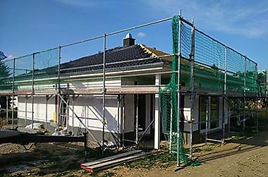 haus bauen preise Neubau eines Einfamilienhauses