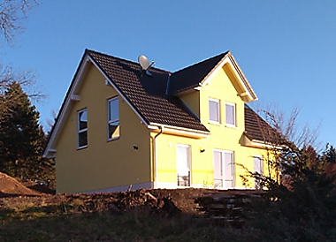haus-bauen-siebenlehn Neubau eines Einfamilienhauses