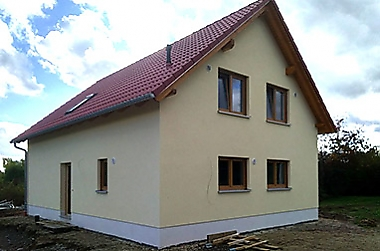 hausbau-erfahrungen-ostrau Neubau eines Einfamilienhauses