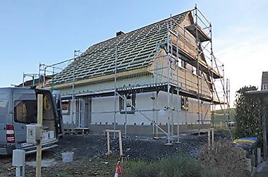 hausbau-kosten-kalkulieren Neubau eines Einfamilienhauses