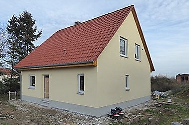 hausbau-landkreis-meissen Neubau eines Einfamilienhauses