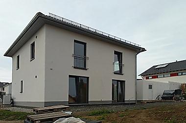 hausbau-massiv Neubau eines Einfamilienhauses