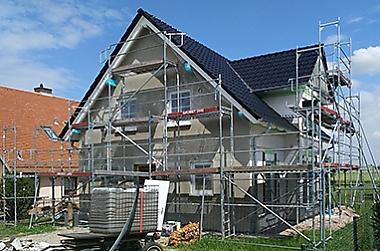 hausbau-muegeln Neubau eines Einfamilienhauses