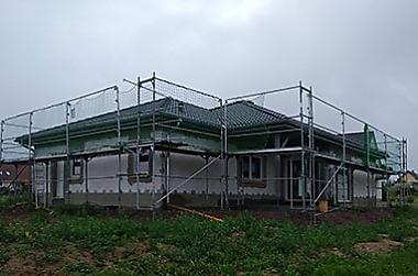 massivhaus-anbieter Neubau eines Einfamilienhauses