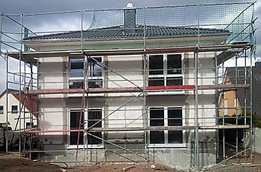 niedrig-zins-nutzen-Hausbau Neubau eines Einfamilienhauses