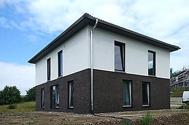 nierigzins-hausbau Neubau eines Einfamilienhauses