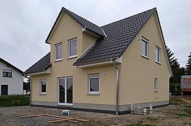 plan zum hausbau Neubau eines Einfamilienhauses