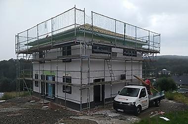 stabile-baupreise-Hausbau Neubau eines Einfamilienhauses