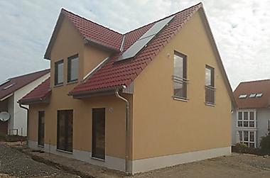 stadthaus-mit-grundstueck Neubau eines Einfamilienhauses