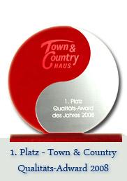 Qualitätsadward von Town & Country - Die Auszeichnung