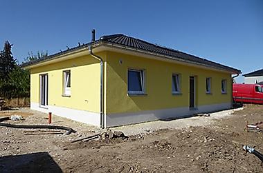 Baustellenbesichtigung Ganzig - Oktober 2019 - Bauherren und Ihre Häuser