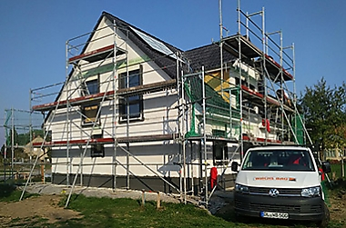 Baustellenbesichtigung - Hausbau in Ostrau und Umgebung
