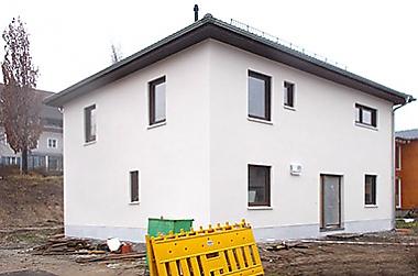 Baustellenbesichtigung Januar 2018 - Hausbau in Dresden