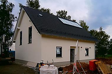 Baustellenbesichtigung Oktober 2017 - Hausbau in Dresden