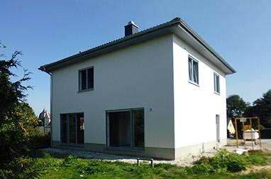 Baustellenbesichtigung September 2017 - Hausbau in Radeburg