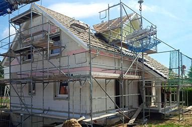 Baustellenbesichtigung Juni 2017 - Hausbau in Radebeul