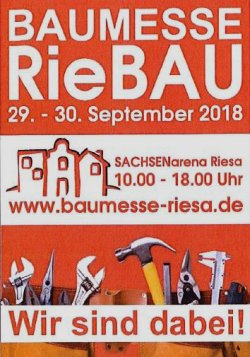 RieBAU - Baumesse Riesa - September 2018