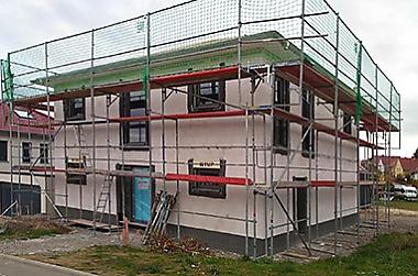 Baustellenbesichtigung in Dresden 2020 - Bauherren und Ihre Häuser