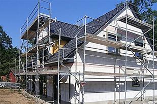 Baustellenbesichtigung - Hausbau in Moritzburg - Town & Country