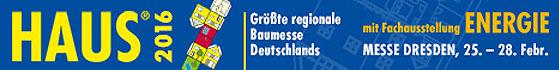 Dresdner Messe 2016 - Thema: Hausbau
