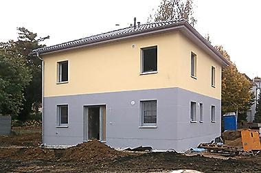 Baustellenbesichtigung November 2016 - Hausbau in Dresden - Town & Country